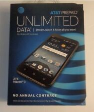 ZTE Maven 3 Z835 AT&T Prepaid  8G Smartphone New in Retail Box Locked to AT&T