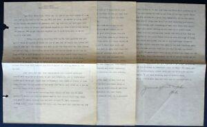 s1981) USA Crocker Land Expedition 1914 Briefinhalt und Unterschrift Dr. H. Hunt