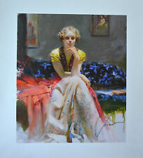 "Pino Daeni ""ENCHANTMENT"" Giclee on Canvas #2/500 Signed/Numbered with COA"