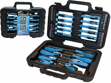 58 pc embout tournevis précision cruciforme torx phillips outil set kit & carry case