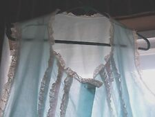 VTG Babydoll Shortie Seethru Nightgown Ribbons & Lace