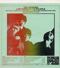 "YARDBIRDS ""LAST HURRAH IN THE BIG APPLE"" ORIG TAKRL 1972"