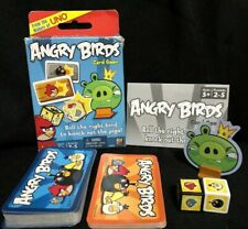 ANGRY BIRDS Card Game Mattel 2011 COMPLETE 2-5 Players, Ages 5+