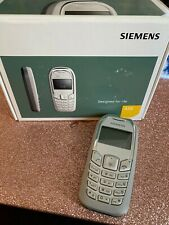 SIEMENS A70 Unlocked Triband GSM Cell Phone Silver Mobile International Calls