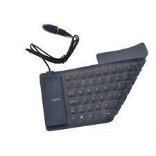 DSI FR85 FOLDABLE FLEXIBLE PORTABLE USB COMPACT KEYBOARD