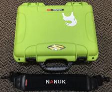 Nanuk 910 Waterproof Hard Case without Foam Insert - Lime Green Used