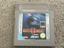 Mortal Kombat 2 II - Nintendo Gameboy Game