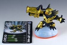 Skylanders Giants Legendary Jet-Vac Figure Loose With Trading Card + Sticker