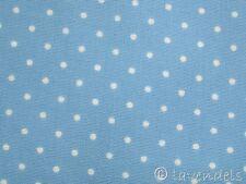 Tela Eco-tex Algodón azul claro Puntos Patchwork polka eco-tex Puntos