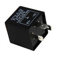 3 Pin Electronic Car LED Flasher Relay CF13 JL-02 Fix Turn Signal Lights Lamp