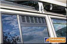 LÜFTUNGSBLECHE Seitenfenster hinten Toyota LandCruiser J150 mit MOSKITONETZ