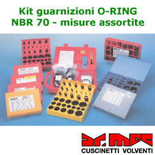 Kit guarnizioni O-RING OR in gomma NBR 70 - Box D (cod. 14280)