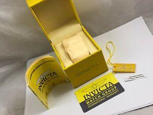 Caja Vacía Reloj  INVICTA , Box