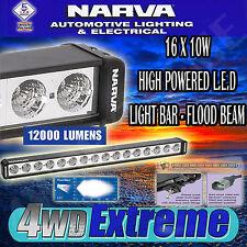 NARVA HIGH POWERED LED LIGHT BAR FLOOD BEAM GREAT WORK LAMP WHITES L.E.D 72764