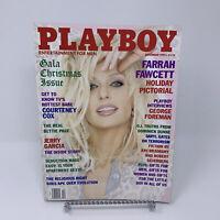 Playboy Magazine December 1995 Farrah Fawcett, George Foreman Interview