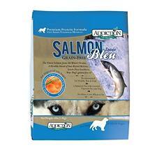 Addiction Grain-Free Adult Dry Dog Food, Salmon Bleu, 4 Pounds, New, Free Shippi