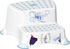 Disney Frozen Toilet Training for Children Double Step Stool 21cm Tall White