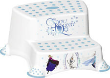 Disney FROZEN Children's Toilet Training 21cm Tall Double Step Stool - White