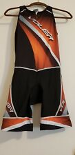 Voler Sync Cycling trisuit/shorts Blk/Grey & Mens Small Compression Padded