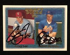 ROBERT STRATTON COREY LEE 1996 TOPPS AUTOGRAPHED SIGNED AUTO BASEBALL CARD 270