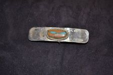 Handmade Sterling Silver and Royston Barrette
