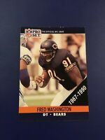 1990 Pro Set #Special FRED WASHINGTON 1967-1990 Rookie RC Chicago Bears RARE SP