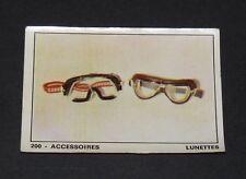 #200 ACCESSOIRES LUNETTES MOTO 2000 PANINI EDITIONS DE LA TOUR 1973