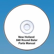 New Holland 840 Round  Baler Parts Manual