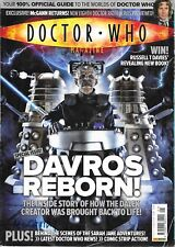 DOCTOR WHO MAGAZINE Number 401 12th Nov 2008 Davros Reborn * Sarah Jane Ventures