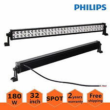 "32""inch 180W LED Light Bar OffRoad Driving SUV Boat SPOT Lamp Driving Ford 30/34"