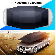 Portable Semi-automatic Outdoor Car Umbrella Sunshade Roof Cover Tent UV Protect