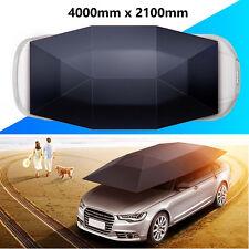 Portable Semi-automatic Outdoor Car Umbrella Sunshade Roof Cover Tent UV Protect