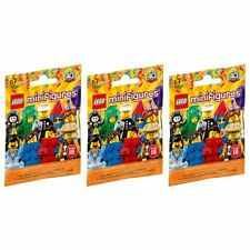New 3 PACKS LEGO Series 18 Minifigure Blind Bags Mystery Figures Official