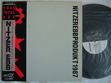 PROMO LABEL / NITZER EBB THAT TOTAL AGE / WITH OBI