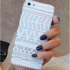 White Case Cover For iphone 6 4.7 Inch Mayan Aztec Tribal Native Ethnic Pattern