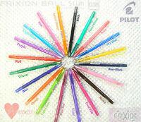20 colours Choose 3pcs  Pilot FriXion ball Slim 0.38mm extra fine erasable pen
