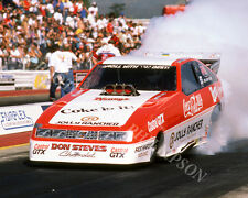FUNNY CAR PHOTO JOHN FORCE DRAG RACING POMONA 1986 NHRA CHEVROLET