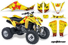 ATV Decal Graphic Kit Wrap For Suzuki LTZ400 Kawasaki KFX400 2003-2008 MELT R Y