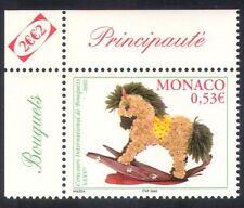 Monaco 2002 Flower Show/Fleurs/Plantes/Nature/cheval à bascule/Toys 1 V (n38649)