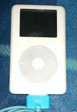 Apple iPod Classic 20GB White (Vintage MP3 Player)  M9282LL version 3.1.1