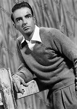 Vintage Photo Print of Famous Movie Legend Montgomery Clift A4 Poster Re-print