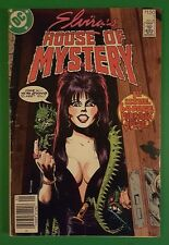Elvira's House of Mystery #1 FN DC Comic 1986 Halloween Special