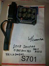 2007 07 2008 08 2009 09 2010 SENTRA ABS PUMP CONTROL 2.0L  0265800467  OEM#S701