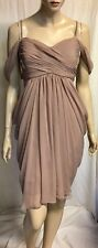 New! Lounge Formal Draped Dress Fully Lined Sz 16 Structured Bodice