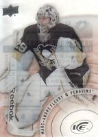2014-15 Upper Deck Ice Hockey #63 Marc-Andre Fleury SP Pittsburgh Penguins