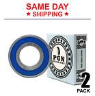 6205-2RS C3 EMQ Premium Rubber Sealed Ball Bearing, 25x52x15, 6205RS (2 QTY)