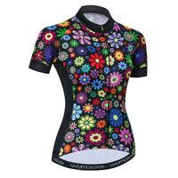 Women's Cycling Jersey Clothing Bicycle Sportswear Short Sleeve Bike Shirt  F33