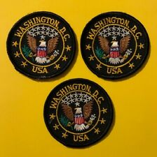 3 lot of Washington DC USA Patches Patch  568S