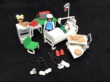 VINTAGE PLAYMOBIL # 3495 HOSPITAL RECOVERY ROOM
