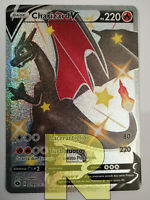 Charizard V SHINY ® Futuri Campioni 079/073 ® Rara Secret ® Pokemon ® Italiano